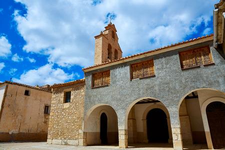 mancha: Church in Talayuelas Cuenca at Castilla la Mancha of spain Stock Photo