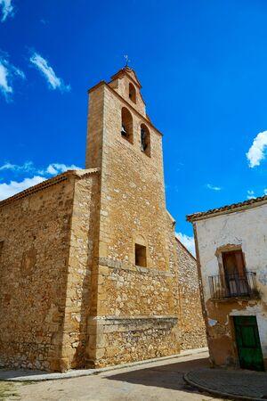 castilla la mancha: Church in Talayuelas Cuenca at Castilla la Mancha of spain Stock Photo