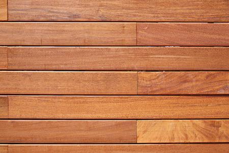 Ipe Teakholz Decking Zaun Muster tropischen Holz Textur Hintergrund