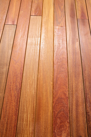 decking: Ipe teak wood decking deck pattern tropical wood texture background Stock Photo