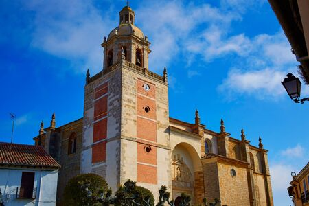 carrion: Carrion de los Condes church on the Way of Saint James at Palencia Spain