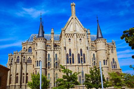 palacio: Astorga Leon Palacio Episcopal of Antoni Gaudi architect by Way of Saint James