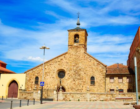 xacobeo: San Bartolome church in Astorga Leon by Saint James Way