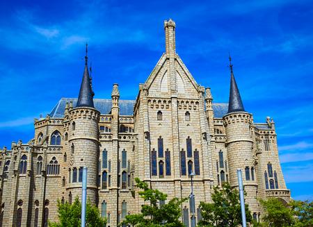 Astorga Leon Palacio Episcopal of Antoni Gaudi architect by Way of Saint James