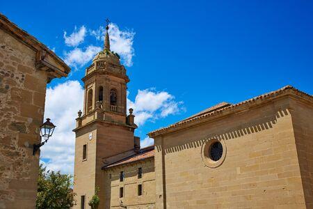 rioja: Granon church in The way of Saint James in La Rioja Logrono