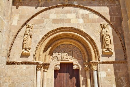 castilla: Leon San Isidoro church by the way of saint James at Castilla Spain