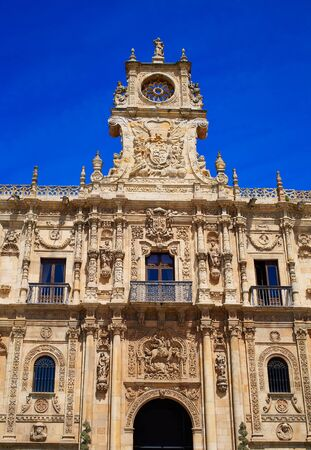 marcos: San Marcos in Leon at the way of Saint James Castilla Spain