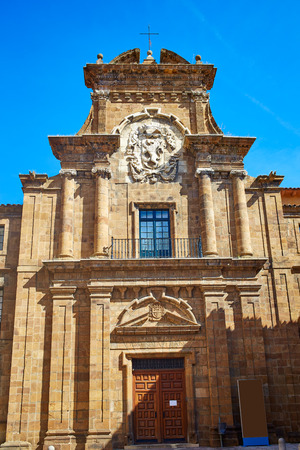castilla: Nuestra senora de Regla in Leon Way of Saint James at Castilla of Spain Stock Photo