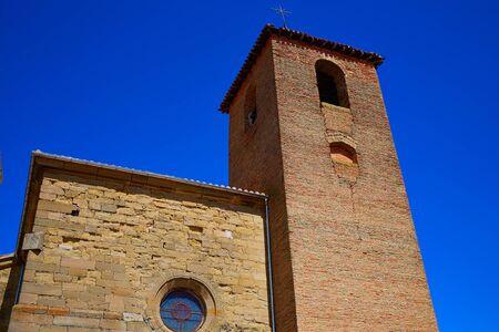 camino: The Way of Saint James church in Redecilla del Camino Castilla Burgos