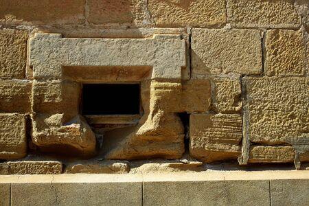 camino: The Way of Saint James stone masonry walls in Redecilla del Camino Castilla Burgos