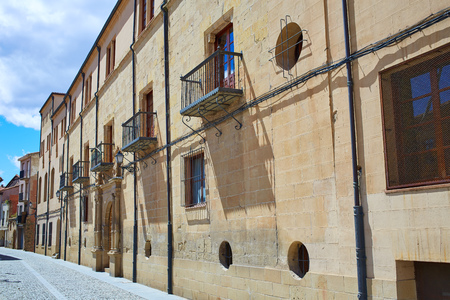 rioja: The way of Saint James by Santo Domingo de la Calzada La Rioja