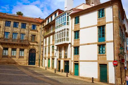 xacobeo: Santiago de Compostela end of Saint James Way in Galicia Spain