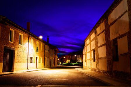 xacobeo: Villalcazar de Sirga sunset the Way of Saint James in Palencia