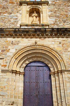 xacobeo: Villafranca del Bierzo by Way of Saint James San Francisco church in Leon Spain