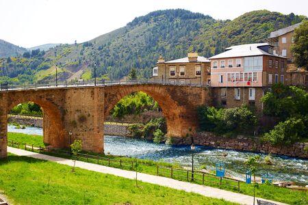 james: Villafranca del Bierzo by Way of Saint James Burbia river in Leon Spain