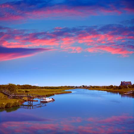 cape: Cape Cod Bumps river near Craigville Beach Massachusetts USA