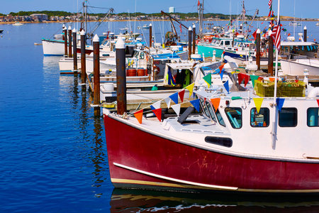 Cape Cod Provincetown port in Massachusetts USA 版權商用圖片 - 51511001