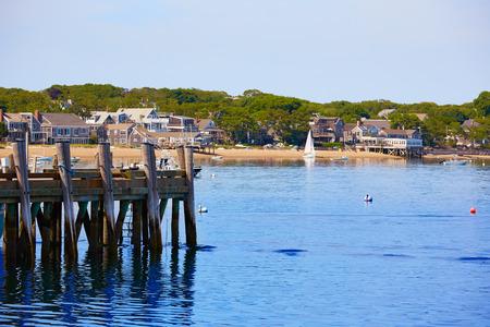 harbour: Cape Cod Provincetown port in Massachusetts USA
