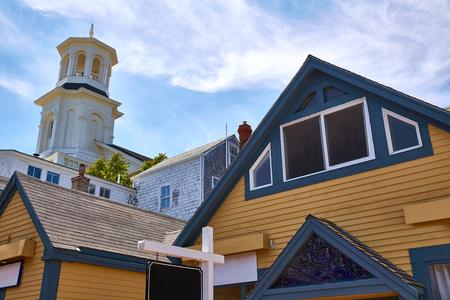 massachusetts: Cape Cod Provincetown in Massachusetts USA Stock Photo