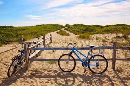 Cape Cod Herring Cove Beach in Massachusetts USA