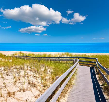 Cape Cod Sandy Neck Beach Barnstable Massachusetts Banque d'images