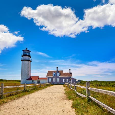 coastal: Cape Cod Truro lighthouse in Massachusetts USA
