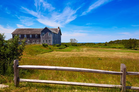united states: Cape Cod Truro house Museum in Massachusetts USA