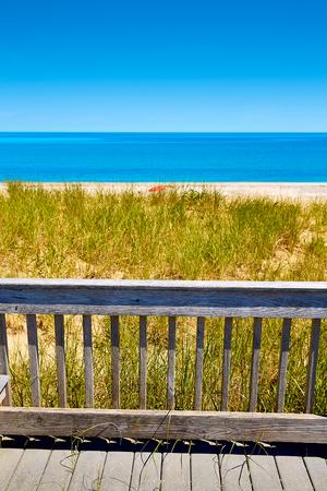 duna: Cape Cod cuello de arena de playa en Barnstable Massachusetts EE.UU.