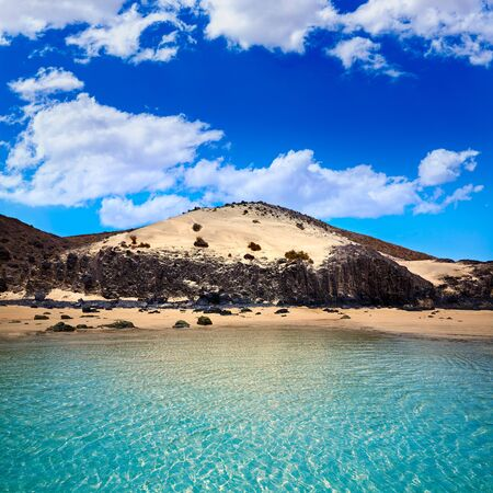 nombre: Jandia beach Mal Nombre Fuerteventura at Canary Islands of Spain Stock Photo