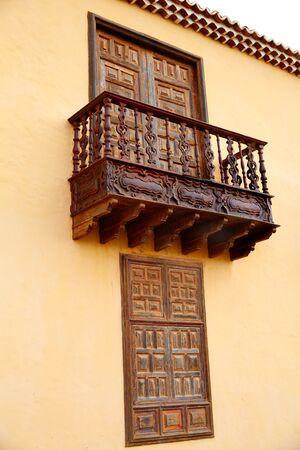 islas: Casa de los Coroneles Fuerteventura La Oliva at Canary Islands of Spain Stock Photo
