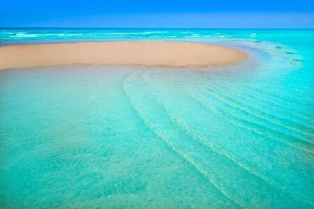 Fuerteventura Jandia Beach Sotavento at Canary Islands of Spain Stock Photo