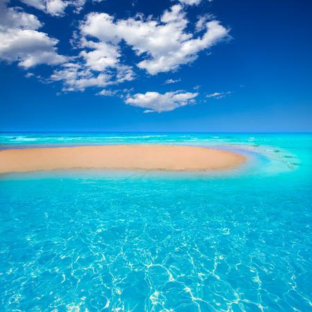 islas: Fuerteventura Jandia Beach Sotavento at Canary Islands of Spain Stock Photo