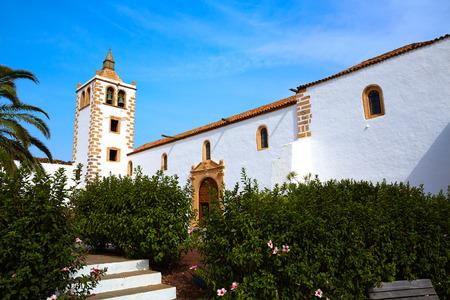 islas: Betancuria Santa Maria church Fuerteventura at Canary Islands matriz cathedral