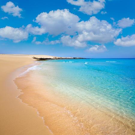 islas: Corralejo Beach Fuerteventura at Canary Islands of Spain