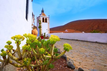 santa maria: Betancuria Santa Maria church Fuerteventura at Canary Islands matriz cathedral