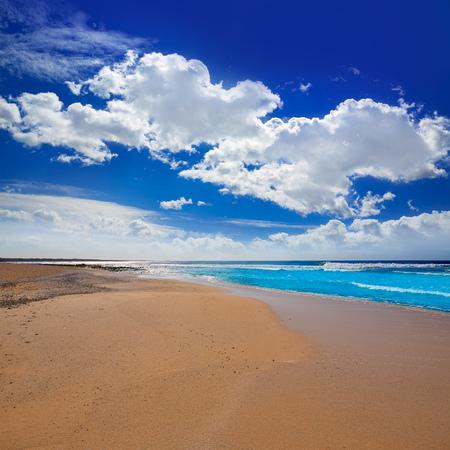 islas: Majanicho beach in Fuerteventura at Canary Islands of Spain