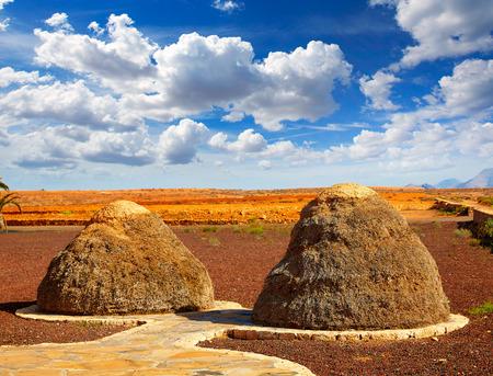 islas: Majorero haystack or straw storage pajero Fuerteventura