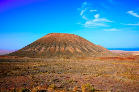 islas: Tindaya area in Fuerteventura at Canary Islands of Spain