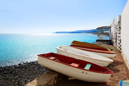 Taralejo beach Fuerteventura at Canary Islands of Spain