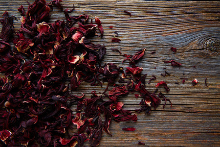 jamaica: Jamaica flower for herbal iced tea from hibiscus Mexican beverages