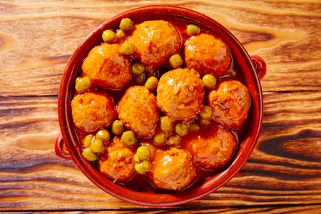 Albóndigas de tapas pastel de carne albóndiga receta de España
