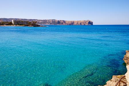 antonio: javea Xabia and San Antonio Cape in Alicante of Mediterranean Spain