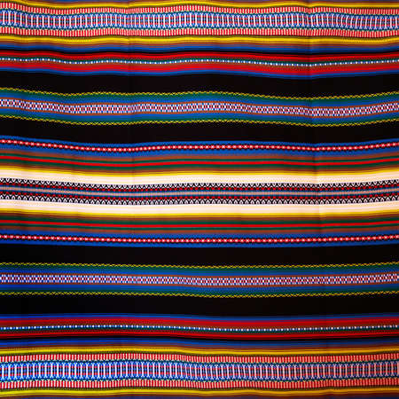 craft material: Aragon typical blanket arab heritage Stock Photo
