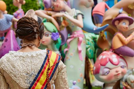 Fallas fest popular figures will burn in March 19 th night yearly
