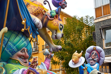 valencia: Fallas fest popular figures will burn in March 19 th night yearly