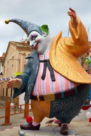 fiesta popular: Fallas fest popular figures will burn in March 19 th night yearly