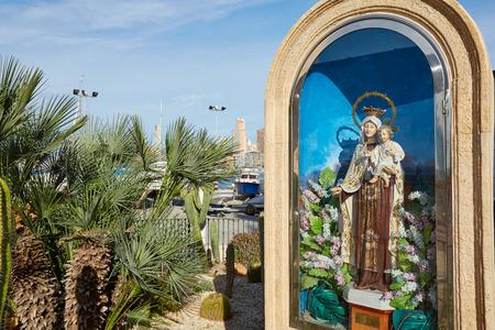 carmen: benidorm in mediterranean coast spain Stock Photo