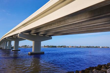 marco: Naples Florida Marco Island bridge view in Florida USA