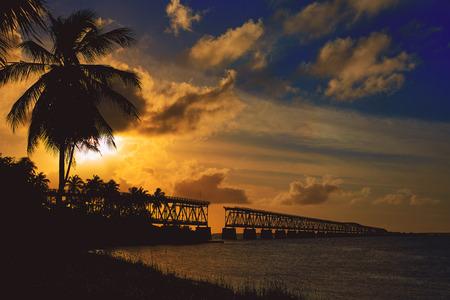 key of paradise: Florida Keys Bahia Honda State Park in USA