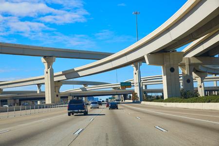 Houston texas crossroads bridges in USA